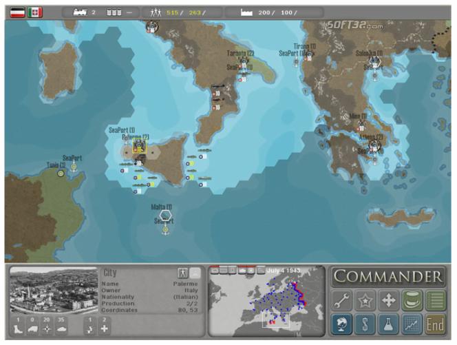 Commander Europe at War Screenshot 3