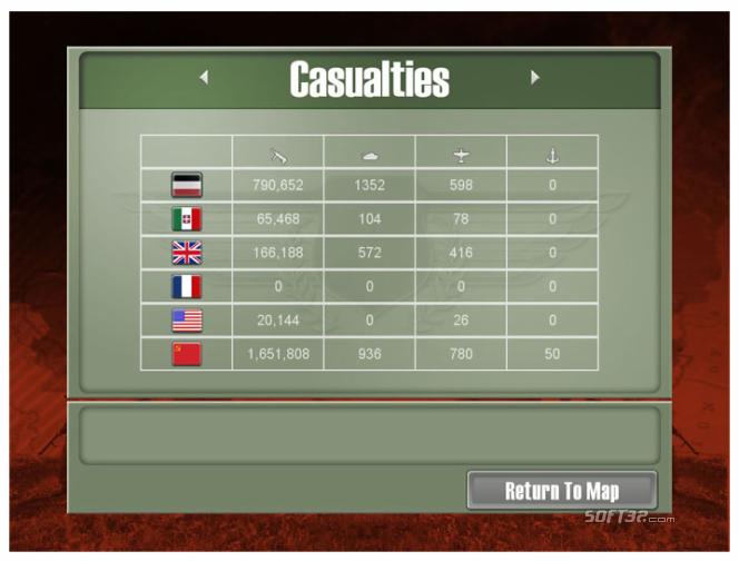 Commander Europe at War Screenshot 4