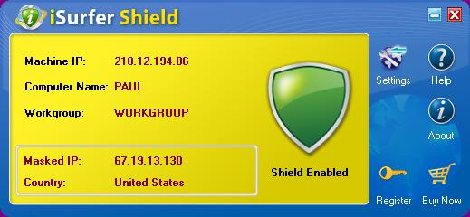 iSurfer Shield Screenshot 1