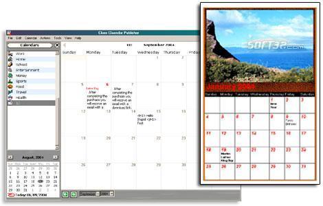 Web Calendar Pad Screenshot 3