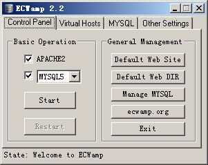 ECWamp Screenshot