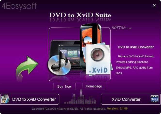 4Easysoft DVD to XviD Suite Screenshot 3