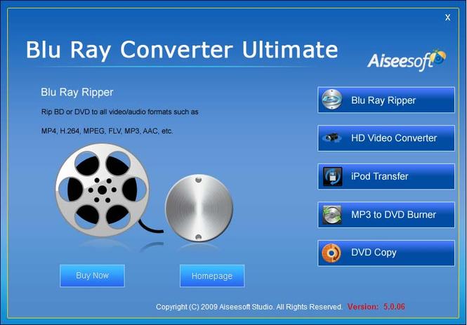 Aiseesoft Blu Ray Converter Ultimate Screenshot 3