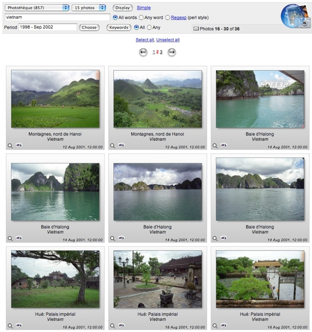 Web iPhoto Access Screenshot