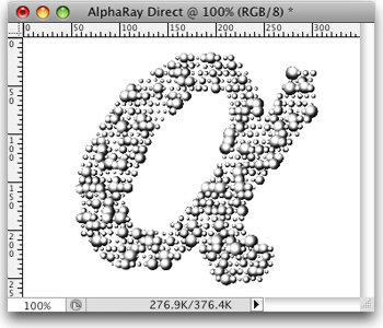 AlphaRay Direct for Mac Screenshot