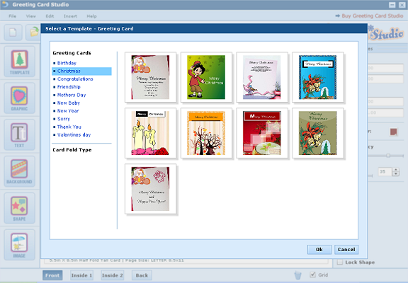 Greeting Card Studio Screenshot 1