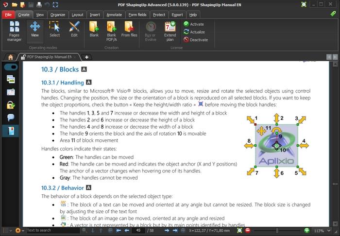 PDF ShapingUp Advanced Screenshot 2