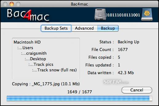 Bac4mac Screenshot 2