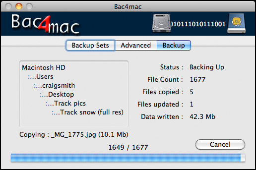 Bac4mac Screenshot