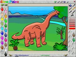 DinoPaint Coloring Book Screenshot 1