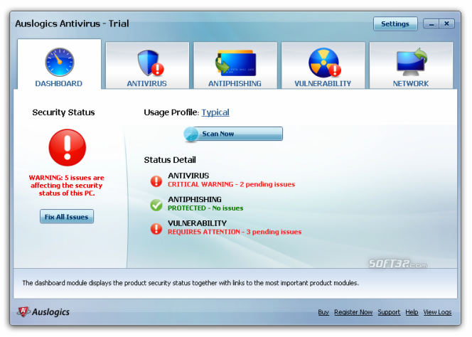 Auslogics Antivirus Screenshot 3
