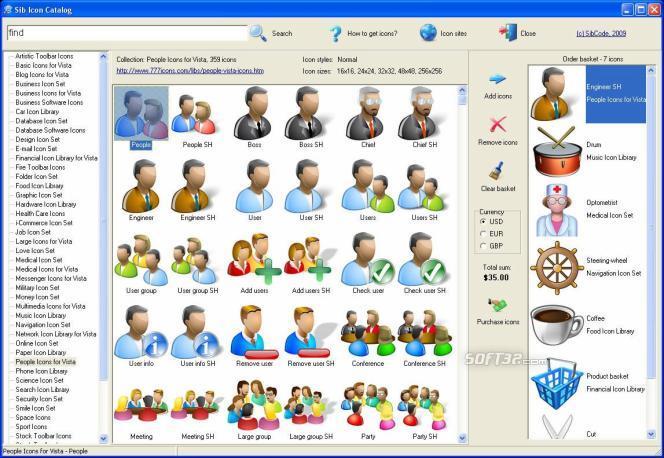 Sib Icon Catalog Screenshot 3