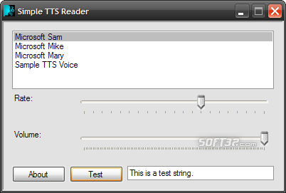 Simple TTS Reader Screenshot 3