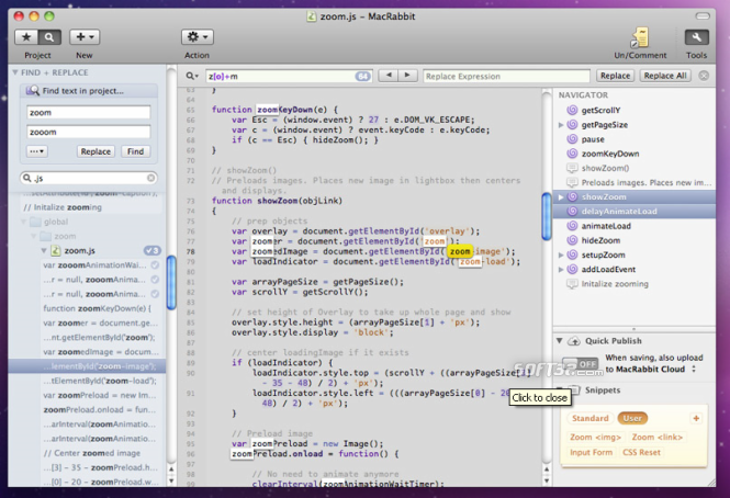 MacRabbit Espresso Screenshot 1
