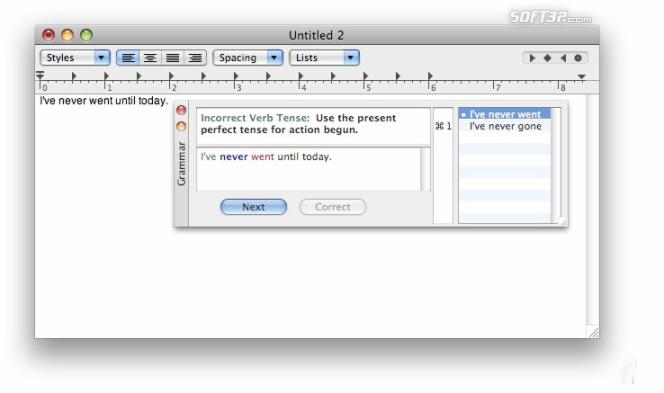 Grammarian Pro X Screenshot 2