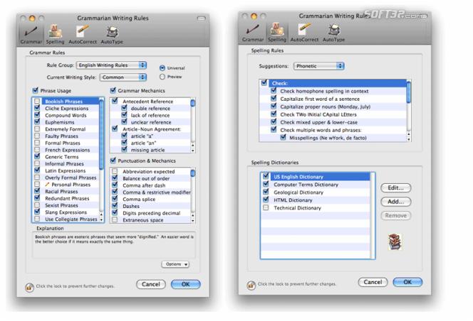Grammarian Pro X Screenshot 3