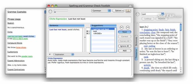 Grammarian Pro X Screenshot