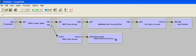 Mainmedia Video Processing Directshow Filter Screenshot 1