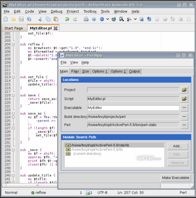 Komodo IDE Screenshot 2