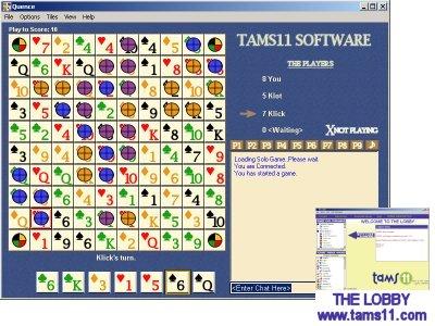 Tams11 Quence Screenshot