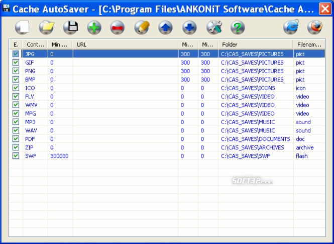 Cache AutoSaver Screenshot 2