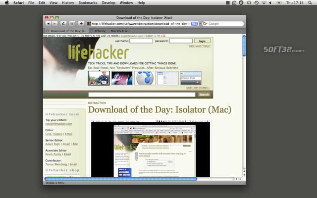Isolator Screenshot