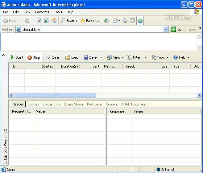 IEHttpTools Screenshot 1