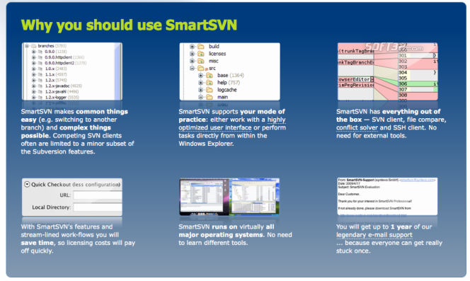 SmartSVN Screenshot 1