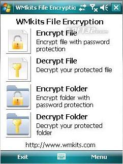 WMkits File Encryption Screenshot 2