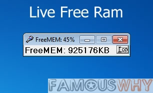 LiveFreeRam Screenshot
