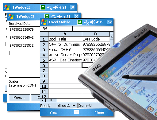 Mobile Software Wedge TWedgeCE Screenshot