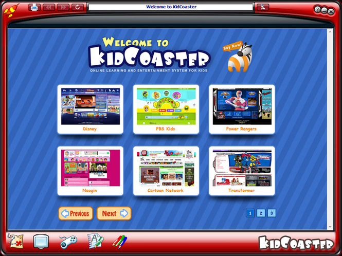 KidCoaster Screenshot 1