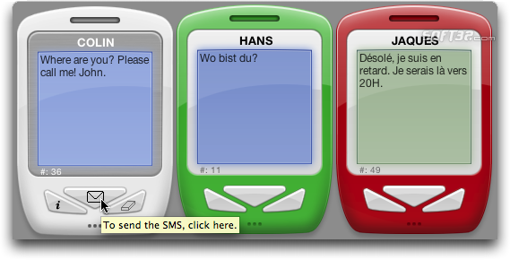 SMS Mac Screenshot 1