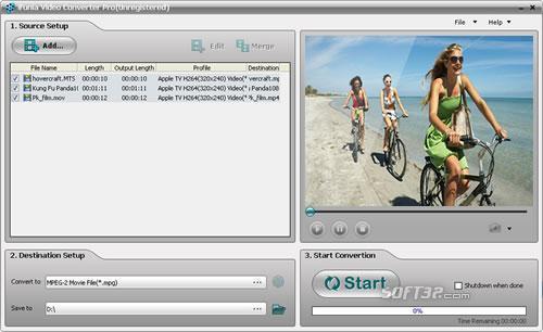 iFunia Video Converter Pro Screenshot 3