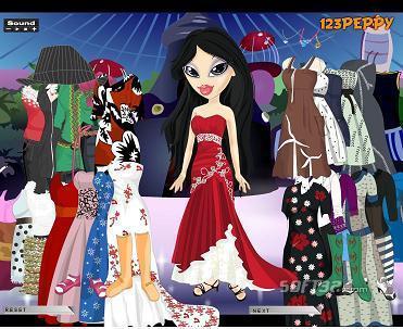 Sheridan Bratz Dress Up Game Screenshot 3