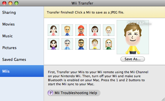 Wii Transfer Screenshot 3