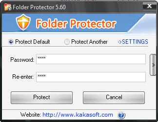 KaKa Folder Protector Screenshot