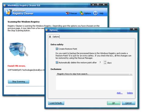 Top Registry Optimizer Screenshot 1