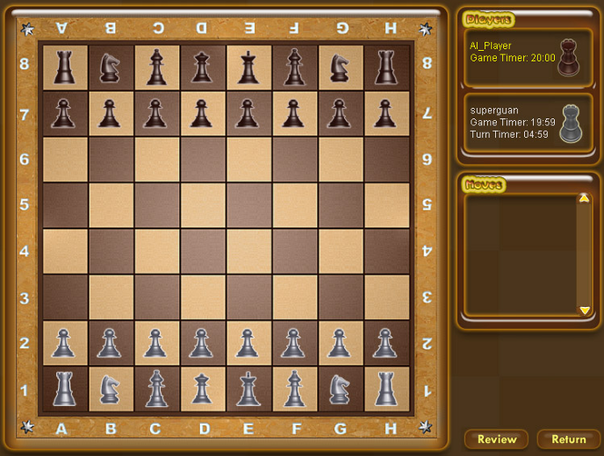Chess Game Screenshot 1