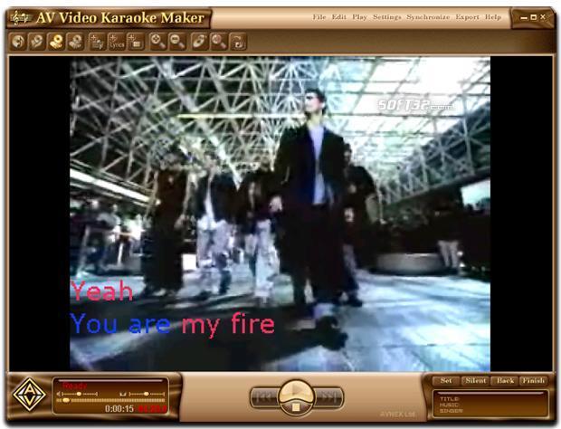 AV Video Karaoke Maker Screenshot 2