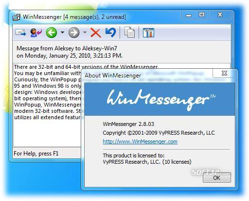 WinMessenger Screenshot 2