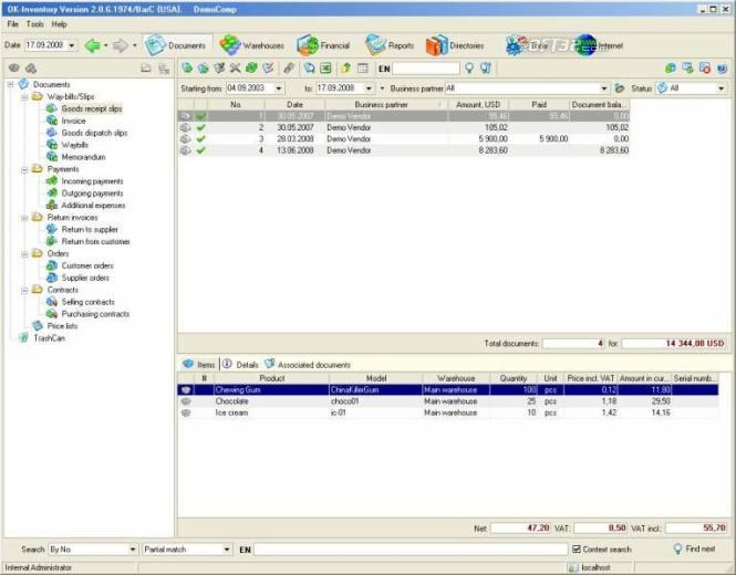 Business accounting software Screenshot 2