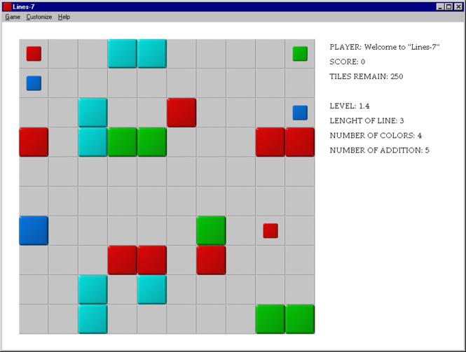 Lines-7 Screenshot