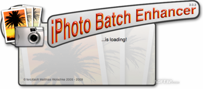 iPhoto Batch Enhancer Screenshot
