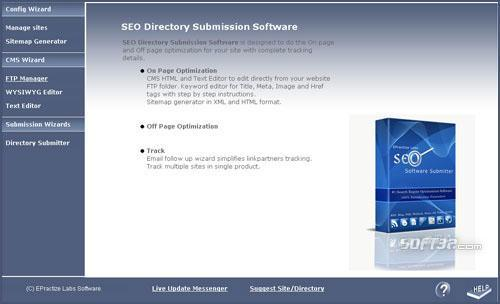 Directory Submitter Enterprise Edition Screenshot 3