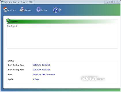 SQL Autobackup Pro Screenshot 3