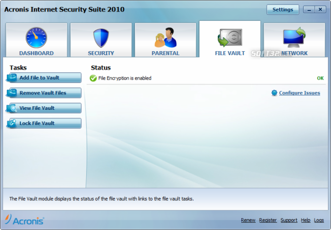 Acronis Internet Security Suite Screenshot 5