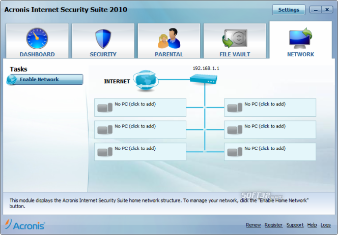Acronis Internet Security Suite Screenshot 6