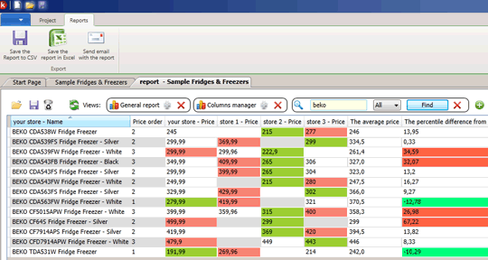 Karsa Fullt Text Search Manager Screenshot