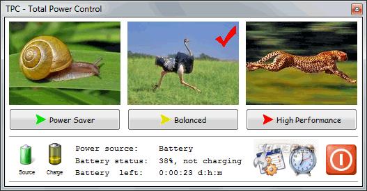 Acritum Total Power Control Screenshot 2